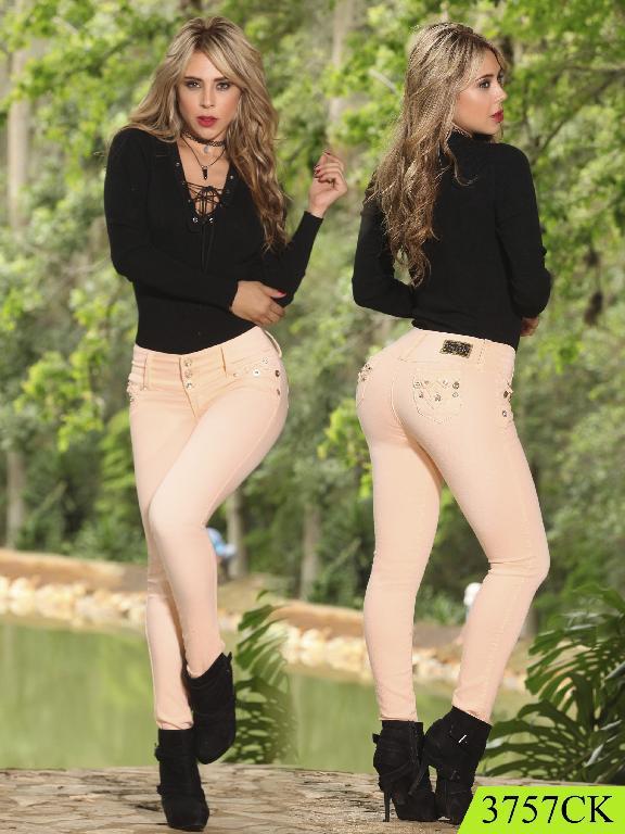Jeans Levantacola Colombiano cokette - Ref. 119 -3757
