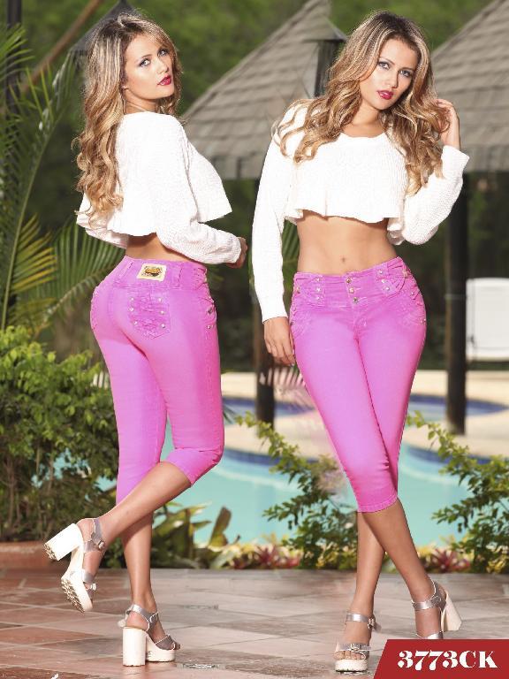 Jeans Levantacola Colombiano Cokette - Ref. 119 -3773
