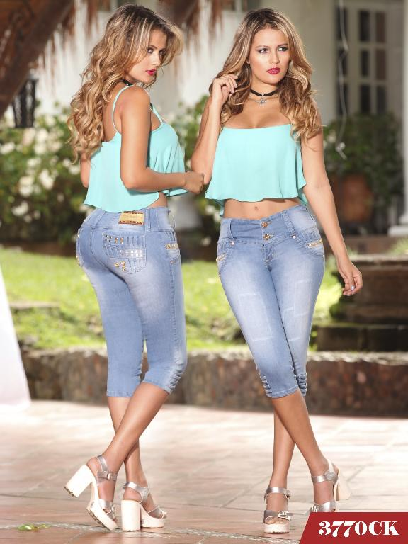 Jeans Levantacola Colombiano Cokette - Ref. 119 -3770