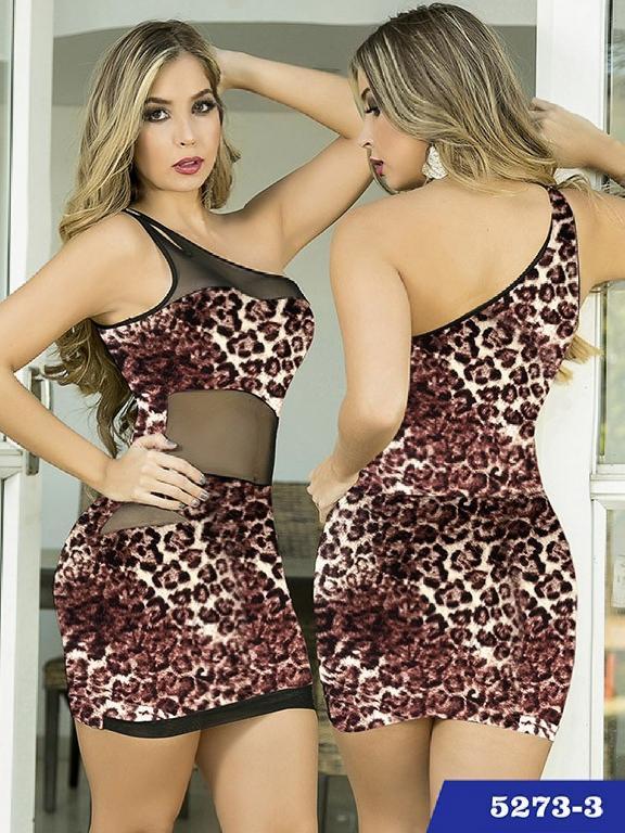 Vestido Moda Thaxx  - Ref. 119 -52733