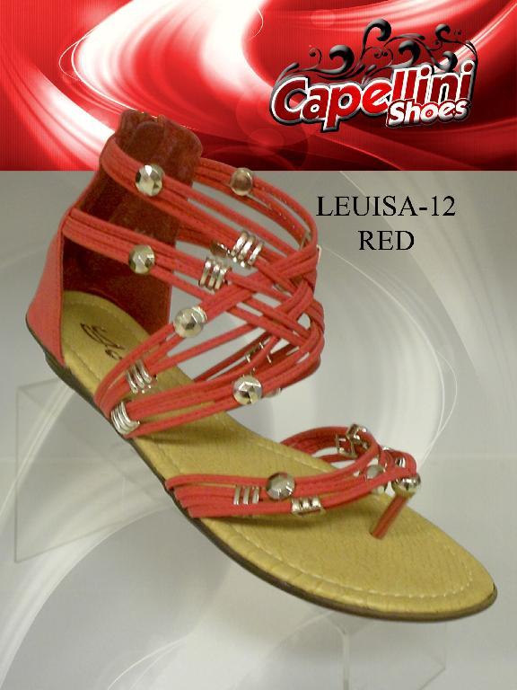 SANDALIA LEVISA-12 - Ref. 182 -LEVISA-12 RED