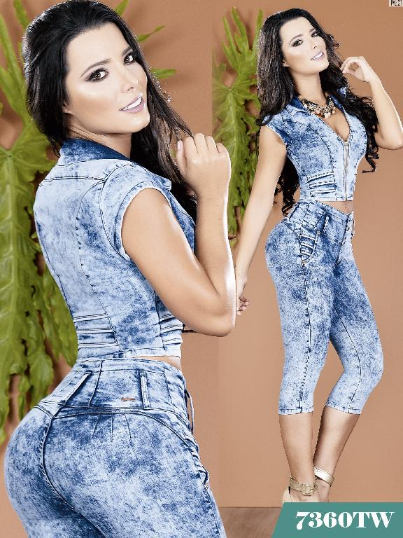 Enterizo Levantacola Colombiano Top Women  - Ref. 123 -7360TW