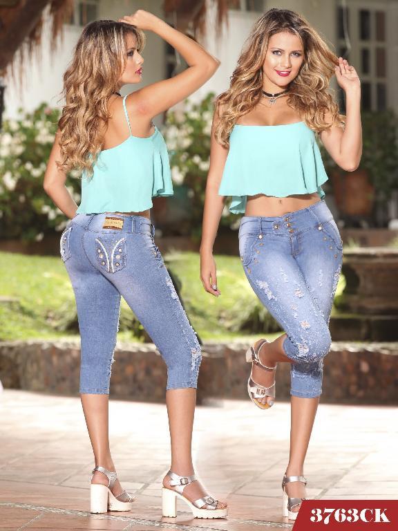 Jeans Levantacola Colombiano Cokette - Ref. 119 -3763