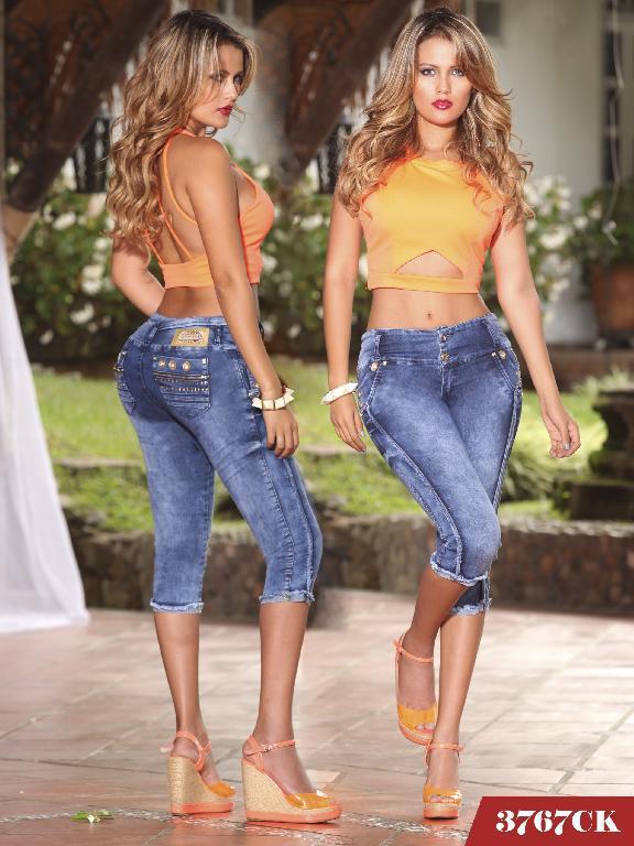 Jeans Levantacola Colombiano Cokette - Ref. 119 -3767