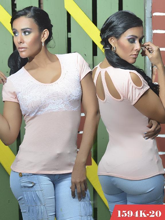 Blusas Moda Colombiana Kpriccio - Ref. 233 -1594-20 Rosado