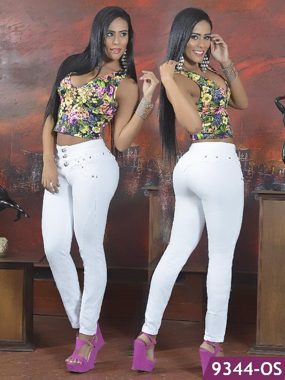Jeans Levantacola Colombiano Osheas - Ref. 103 -9344 OS