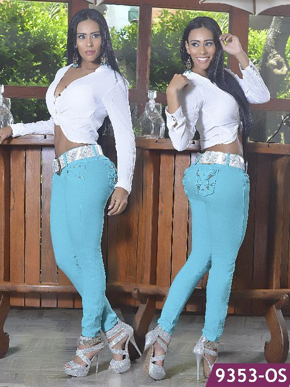 Jeans Levantacola Colombiano Osheas - Ref. 103 -9353 OS
