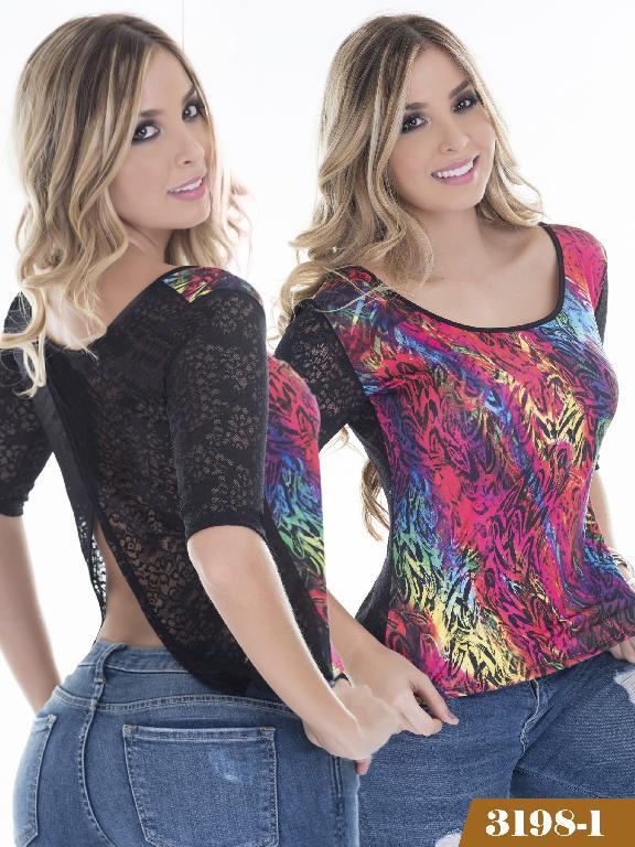 Blusa Moda Thaxx - Ref. 119 -31981