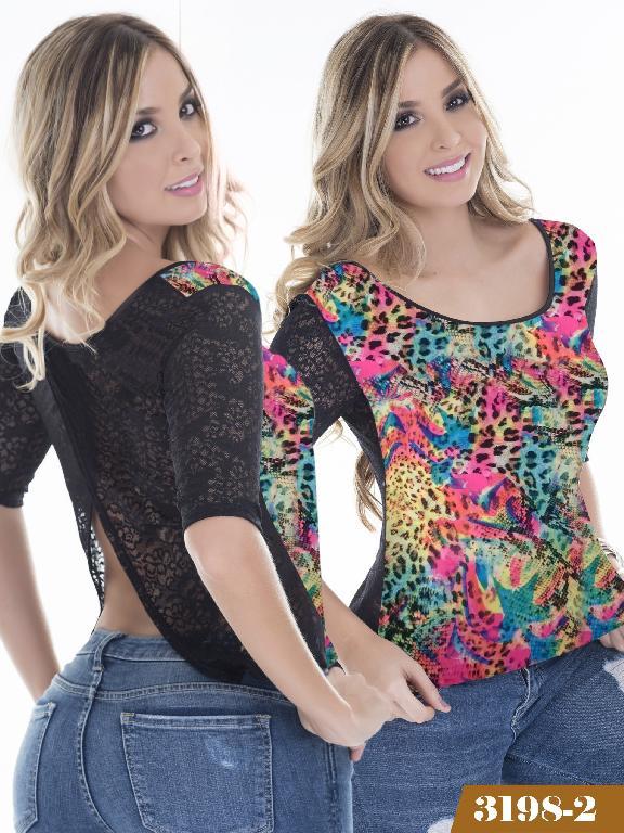 Blusa Moda Thaxx - Ref. 119 -31982