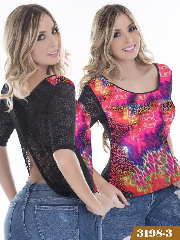Blusa Moda Thaxx - Ref. 119 -31983