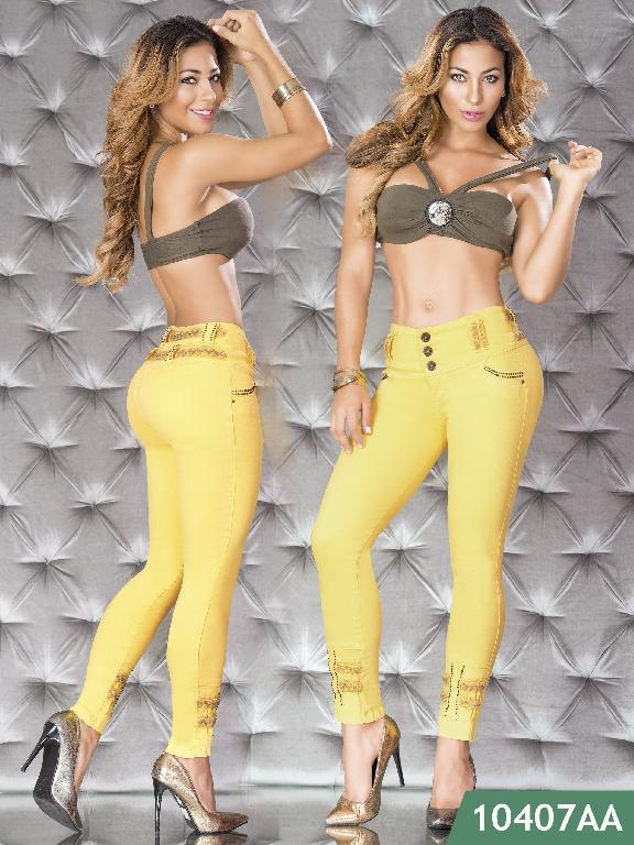 Jeans Levantacola Colombiano Studio AA  - Ref. 235 -10407 AA