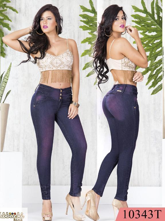 Jeans Levantacola Colombiano Tabbachi  - Ref. 101 -10343T