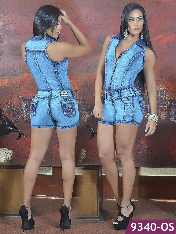 Enterizo Short Levantacola Colombiano Osheas  - Ref. 103 -9340 OS