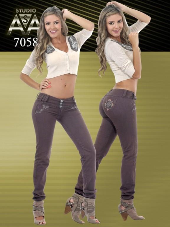 Fashion Women Jeans - Ref. 127 -7058