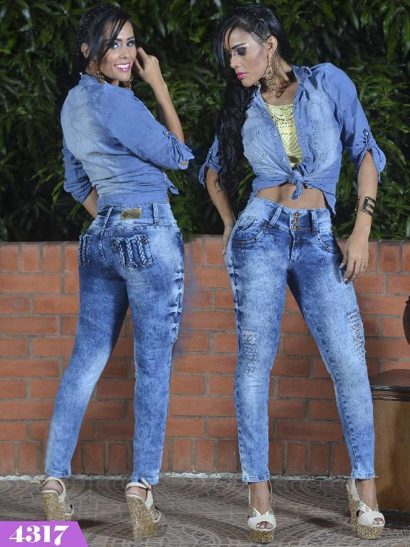 Jeans Levantacola Colombiano Kpriccio  - Ref. 126 -4317