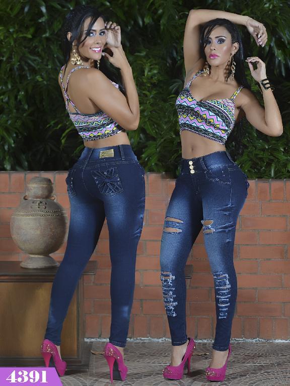 Jeans Levantacola Colombiano Kpriccio  - Ref. 126 -4391