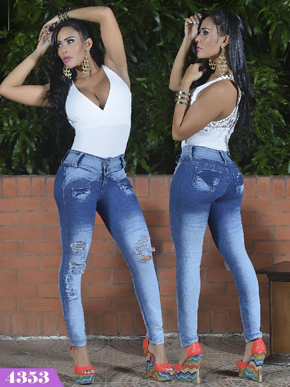 Jeans Levantacola Colombiano Kpriccio  - Ref. 126 -4353