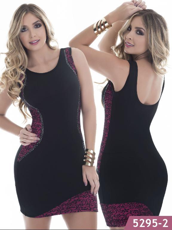 Vestido Moda Colombiano Thaxx - Ref. 119 -5295-2