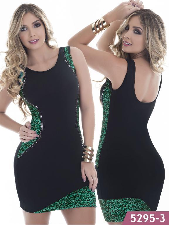 Vestido Moda Colombiano Thaxx - Ref. 119 -5295-3