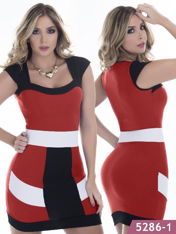 Vestido Moda Colombiano Thaxx - Ref. 119 -5286-1