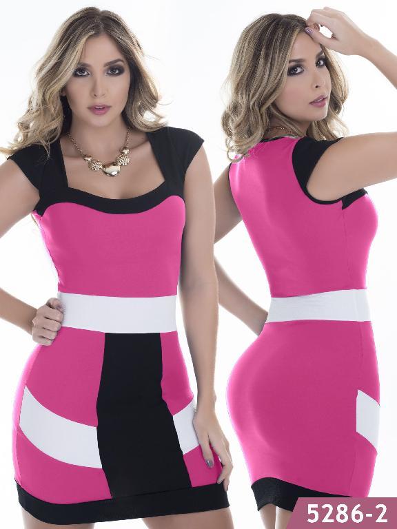 Vestido Moda Colombiano Thaxx - Ref. 119 -5286-2