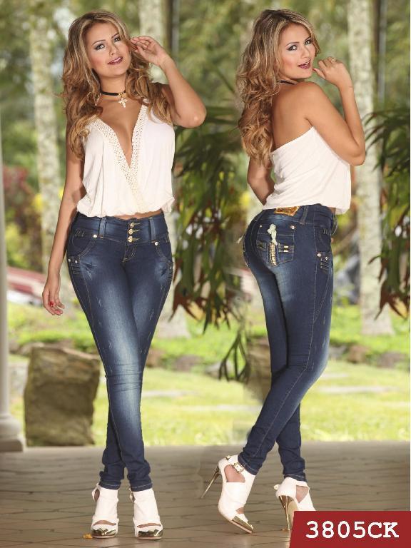 Jeans Levantacola Colombiano Cokette - Ref. 119 -3805