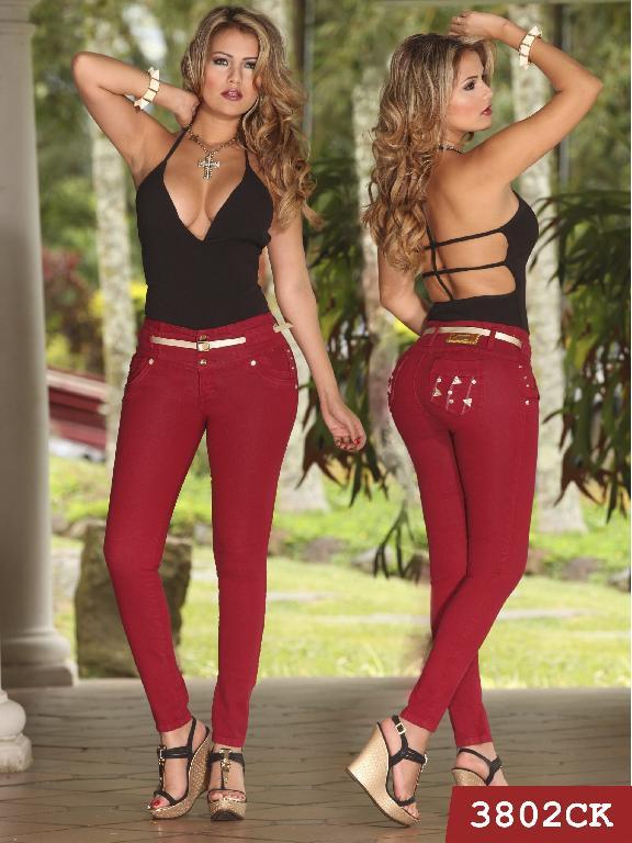 Jeans Levantacola Colombiano Cokette - Ref. 119 -3802