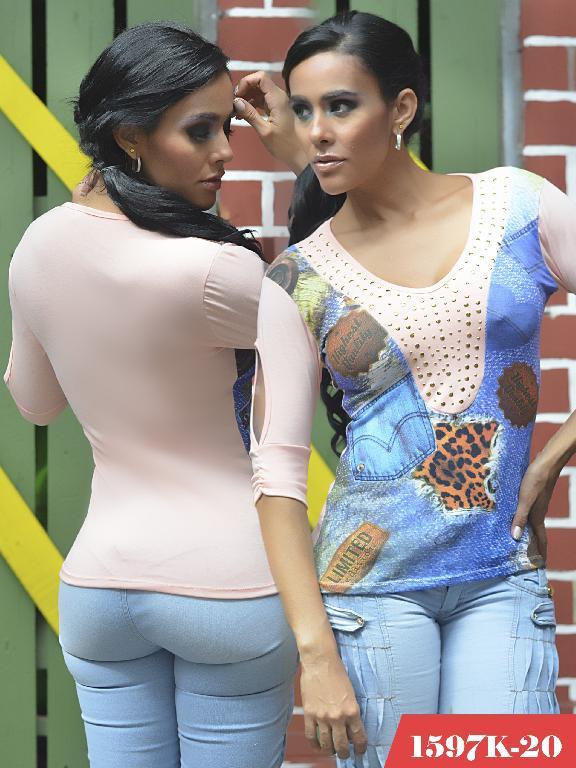 Blusas Moda Colombiana Kpriccio - Ref. 233 -1597-20 Rosado