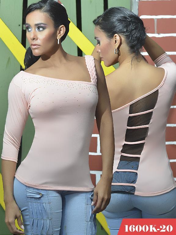 Blusas Moda Colombiana Kpriccio - Ref. 233 -1600 20 Rosado