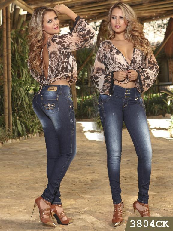 Jeans Levantacola Colombiano Cokette - Ref. 119 -3804
