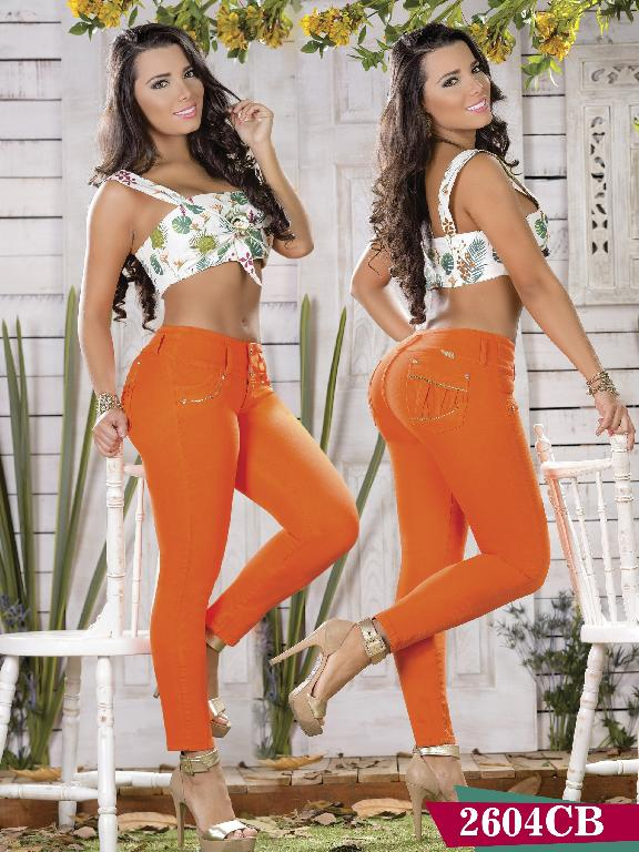 Jeans Levantacola Colombiano Capellini Boutique - Ref. 106 -2604 CB