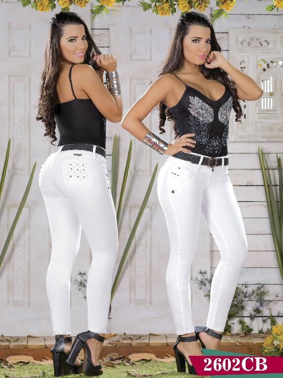 Jeans Levantacola Colombiano Capellini Boutique - Ref. 106 -2602 CB