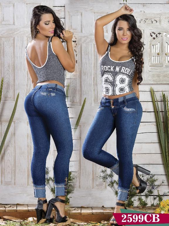 Jeans Levantacola Colombiano Capellini Boutique - Ref. 106 -2599 CB