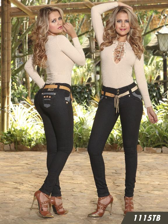 Jeans Levantacola Colombiano Thaxx Boutique  - Ref. 119 -1115