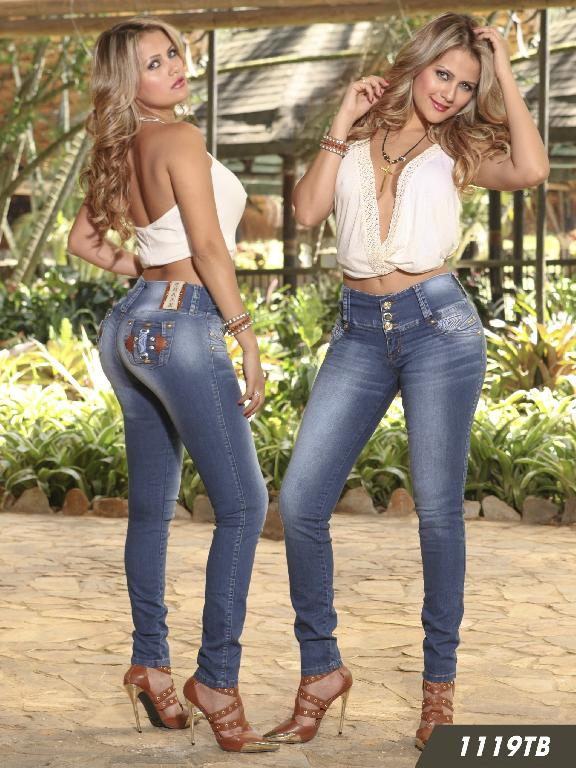Jeans Levantacola Colombiano Thaxx Boutique - Ref. 119 -1119