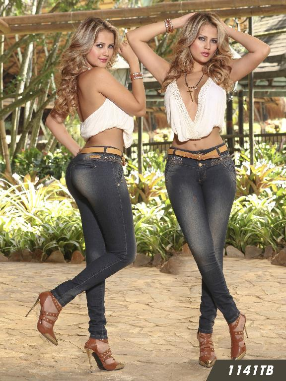 Jeans Levantacola Colombiano Thaxx Boutique  - Ref. 119 -1141
