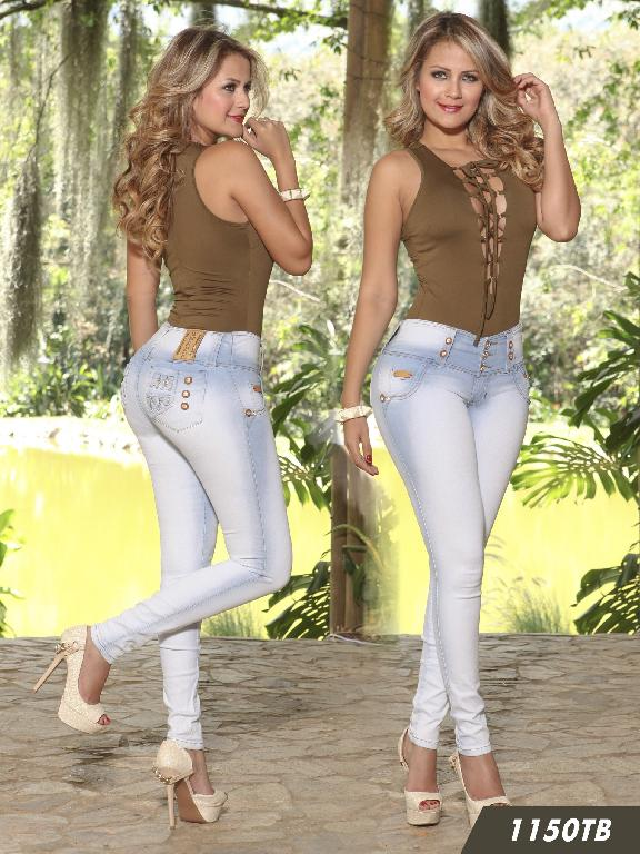 Jeans Levantacola Colombiano Thaxx Boutique  - Ref. 119 -1150