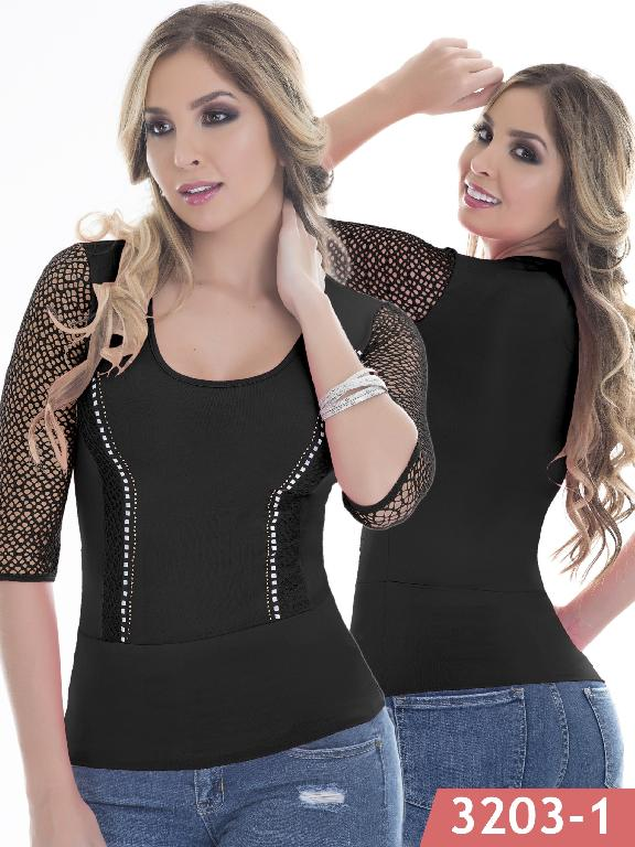 Blusa Moda Thaxx - Ref. 119 -3203-1