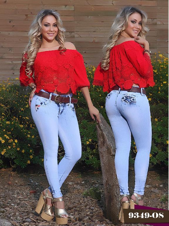 Jeans Levantacola Colombiano Osheas  - Ref. 103 -9349 OS