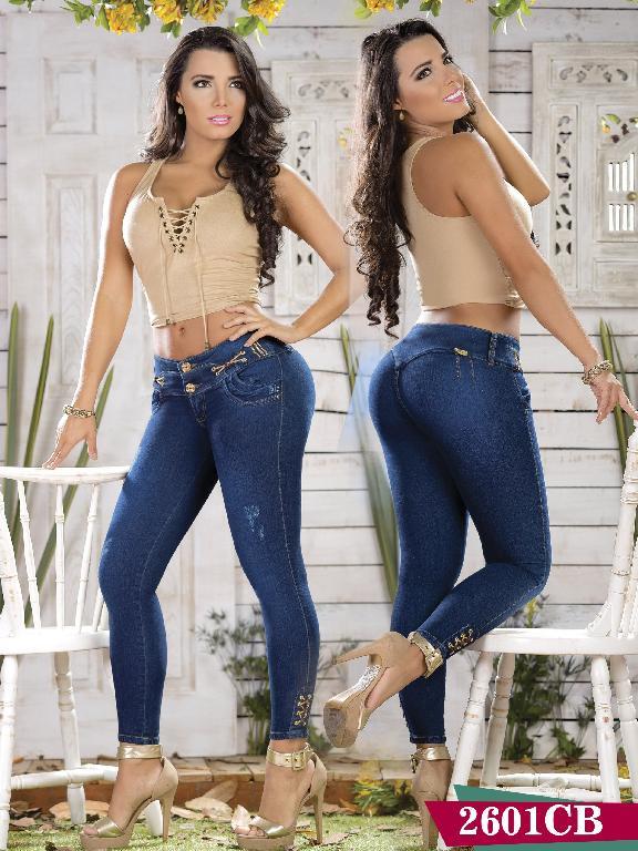Jeans Levantacola Colombiano Capellini Boutique - Ref. 106 -2601 CB