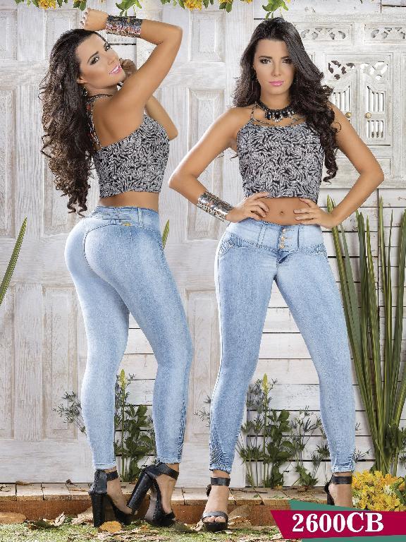 Jeans Levantacola Colombiano Capellini Boutique - Ref. 106 -2600 CB