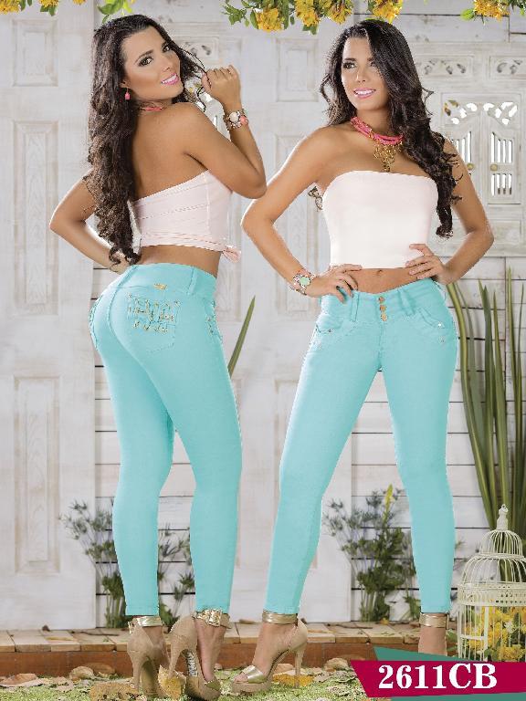 Jeans Levantacola Colombiano Capellini Boutique - Ref. 106 -2611 CB