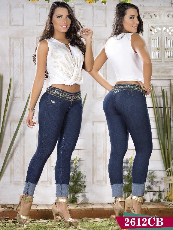 Jeans Levantacola Colombiano Capellini Boutique - Ref. 106 -2612 CB