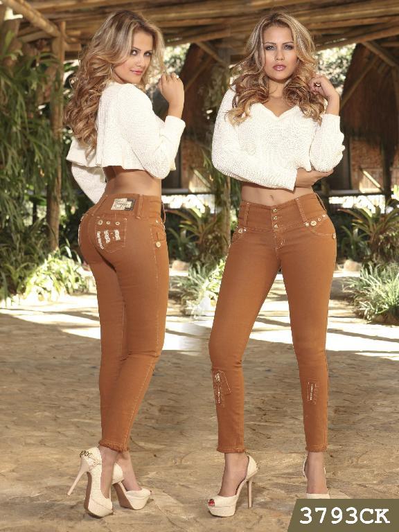 Jeans Levantacola Colombiano Cokette - Ref. 119 -3793