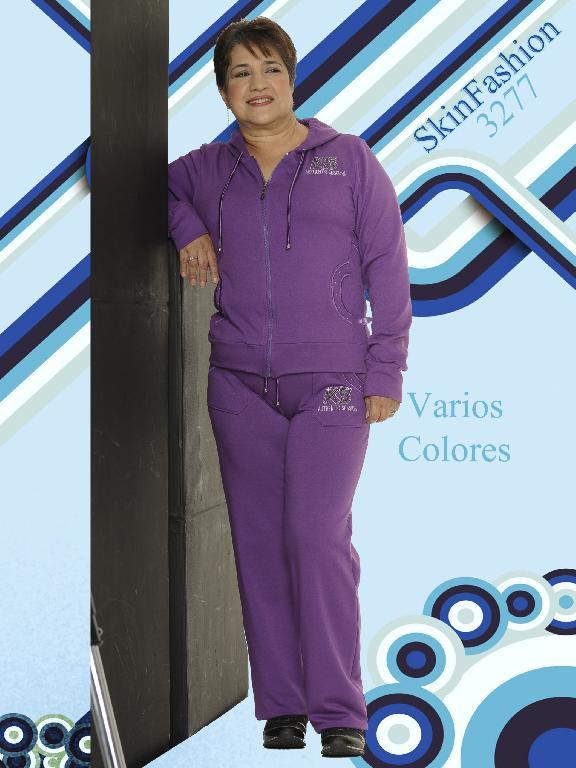 Conjunto Deportivo Skin Fashion - Ref. 118 -3277