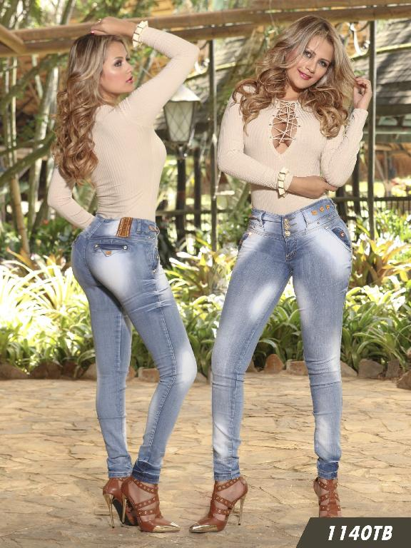 Jeans Levantacola Colombiano Thaxx Boutique  - Ref. 119 -1140
