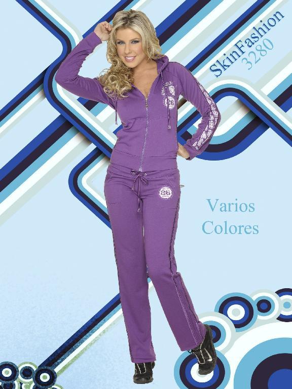 Conjunto Deportivo Skin Fashion - Ref. 118 -3280
