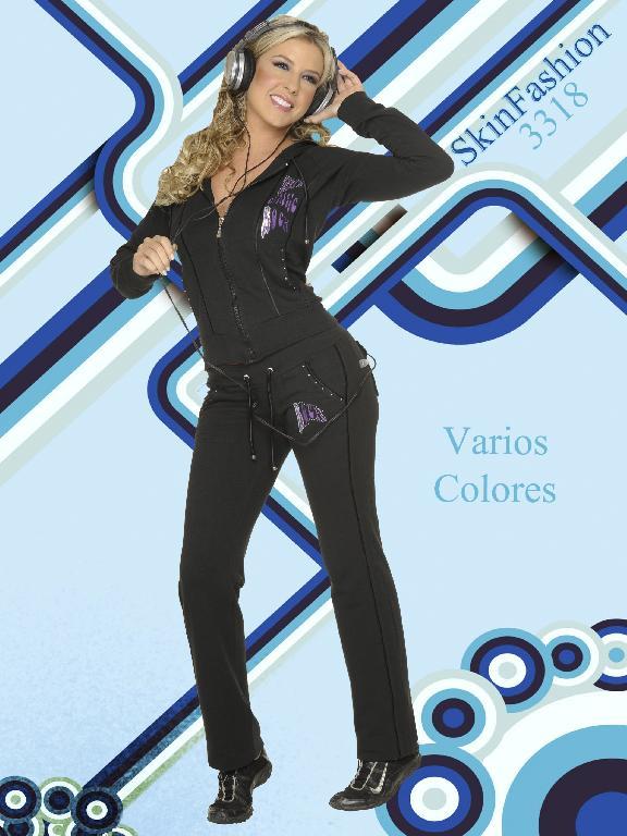 Conjunto Deportivo Skin Fashion - Ref. 118 -3318
