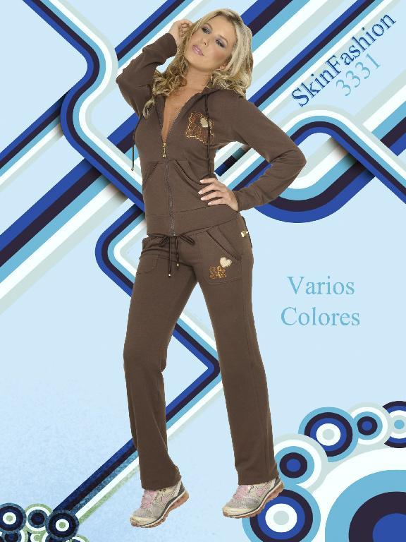 Conjunto deportivo Skin Fashion - Ref. 118 -3331