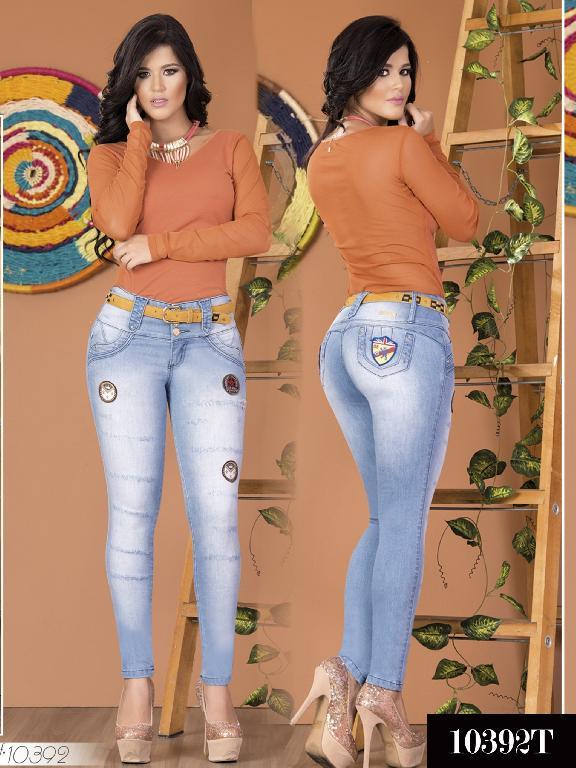 Jeans Levantacola Colombiano Tabbachi 10392 - Ref. 101 -10392 T